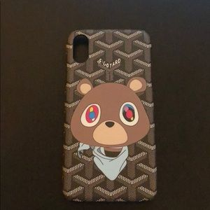 New kanye bear yeezy iphone x case